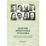 Slovník spisovatelů Svitavska - Elektronická kniha