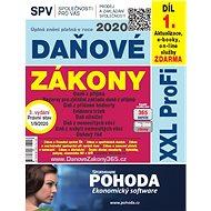 Daňové zákony 2020 ČR XXL ProFi (díl první, vydání 3.1) - Elektronická kniha