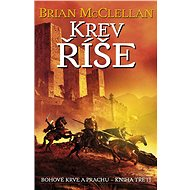 Krev říše - Brian McClellan, 688 stran