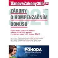 Zákony o kompenzačním bonusu 2021 - Elektronická kniha