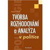 Tvorba rozhodování a analýza v politice - Elektronická kniha