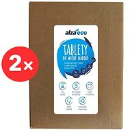 AlzaEco All in 1 12in1 (2× 140 Pcs) - Eco-Friendly Dishwasher Tablets