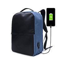 Ekphero Anti-theft Backpack Blue - Batoh na notebook