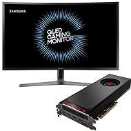 "AMD RADEON VEGA BLACK PACK + herní monitor Samsung 32"" C32HG70 - Set"