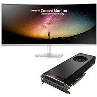 "AMD RADEON VEGA BLACK PACK + herní monitor Samsung 34"" C34F791 - Set"