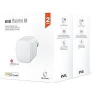 EVE MULTIPACK 2X THERMO Smart Radiator Valve (Chipset 2020) - Termostatická hlavice