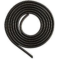 ELPINIO ochrana kabelu spirála - metalická černá