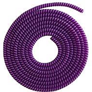 ELPINIO ochrana kabelu spirála - fialová