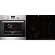 ELECTROLUX EZB2400AOX + ELECTROLUX EHF6241FOK - Oven & cooktop set