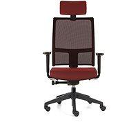 EMAGRA TAU červená - Kancelářská židle