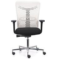 EMAGRA ATHENA IVORY černá - Kancelářská židle