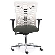 EMAGRA ATHENA IVORY šedá - Kancelářská židle