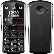 Emporia PURE Grey Black - Mobilní telefon