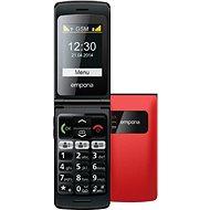 Emporia FLIP basic červený - Mobilní telefon