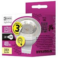 EMOS LED žárovka Premium MR16 36° 5W GU5,3 teplá bílá - LED žárovka