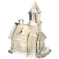 EMOS LED kostel akrylový, 21 cm, 3× AAA, teplá bílá