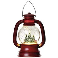 EMOS LED lucerna 20x11 cm, 3x AA, vnitřní, teplá bílá - Vánoční lucerna