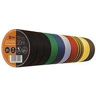 EMOS Izolační páska PVC 19mm / 20m barevný mix, 10 ks