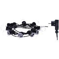 EMOS LED světelný řetěz – 10× párty žárovky, 5m, multicolor - Vánoční řetěz