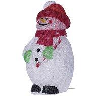 EMOS LED dekorace - sněhulák, IP44, studená bílá, časovač - Vánoční osvětlení