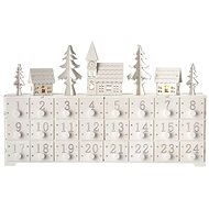 LED Advent Calendar, 37x23cm, 2x AA, Indoor, Warm White - Christmas Lights