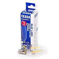 Tesla LED žárovka svíčka E14 2,5W Filament - LED žárovka
