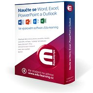 Edu-learning pro výuku Wordu, Excelu, PowerPointu a Outlooku (elektronická licence) - Elektronická licence
