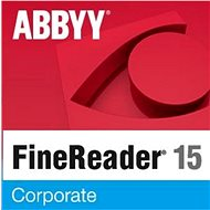 ABBYY FineReader 15 Corporate upgrade (elektronická licence) - OCR software