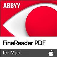 ABBYY FineReader PDF for Mac (elektronická licence) - Kancelářský software