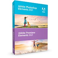 Adobe Photoshop Elements + Premiere Elements 2021 WIN CZ (elektronická licence) - Grafický software