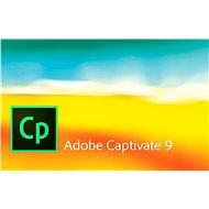 Adobe Captivate 9 MP ENG (elektronická licence) - Elektronická licence