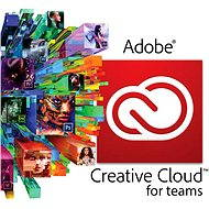Adobe Creative Cloud for teams All Apps MP ML (vč. CZ) Commercial (1 měsíc) (elektronická licence) - Grafický software