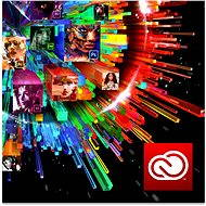 Adobe Creative Cloud for teams All Apps MP ML (vč. CZ) Commercial (12 měsíců) RENEWAL (elektronická  - Grafický software