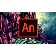 Adobe Animate Creative Cloud (Flash Pro) MP ENG Commercial (1 měsíc) (elektronická licence) - Elektronická licence