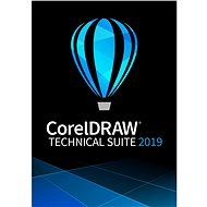 CorelDRAW Technical Suite 1-Year Subscription for One User (Electronic License) - Graphics Software