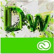 Adobe Dreamweaver Creative Cloud MP ML (vč. CZ) Commercial (1 měsíc) (elektronická licence) - Elektronická licence