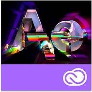 Adobe After Effects Creative Cloud MP team ENG Commercial (12 měsíců) (elektronická licence) - Grafický software
