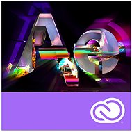 Adobe After Effects Creative Cloud MP team ENG Commercial RENEWAL (12 Months) (Electronic License) - Graphics Software