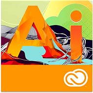 Adobe Illustrator Creative Cloud MP ENG Commercial (12 Months) (Electronic License) - Graphics Software