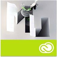 Adobe Muse Creative Cloud MP ML (vč. CZ) Commercial (12 měsíců) (elektronická licence) - Elektronická licence