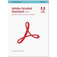 Kancelářský software Acrobat Standard 2020 CZ Upgrade (elektronická licence)