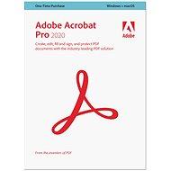 Adobe Acrobat Pro WIN/MAC CZ (BOX) - Kancelářský software