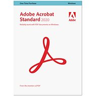 Adobe Acrobat Standard WIN CZ (BOX)