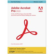 Adobe Acrobat Pro Student&Teacher WIN/MAC ENG (BOX)