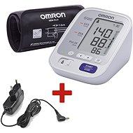 OMRON M3 Comfort + zdroj - Tlakoměr