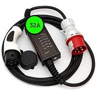 Typ 2(Mennekes) / CEE (230V), 32A 5p - 5m - Nabíjecí kabel