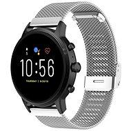 Řemínek Epico Milanese Strap Xiaomi Mi Watch stříbrná