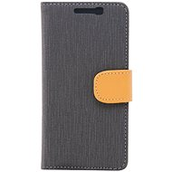 Epico Flip Case Prime pro Lenovo A6000 - šedé - Pouzdro na mobilní telefon