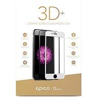 Epico Glass 3D+ pro iPhone 6 Plus/6S Plus/7 Plus/8 Plus bílé - Ochranné sklo