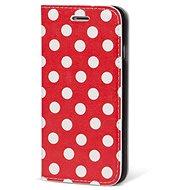 Epico Color Flip Red Dottie pro iPhone 7/8 - Pouzdro na mobilní telefon